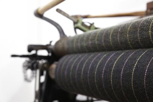 Обрезиненные валы в текстильном производстве